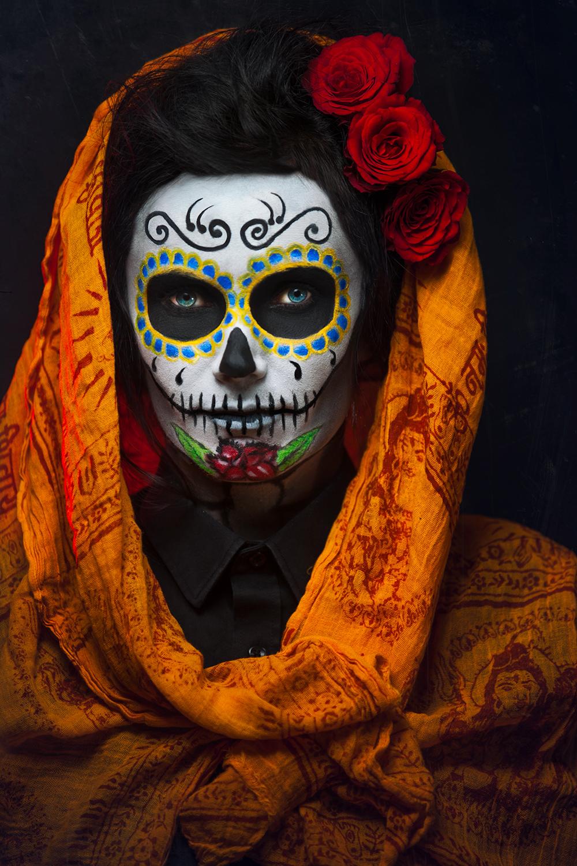 Big Smoke Studio Dia De Los Muertos Portrait