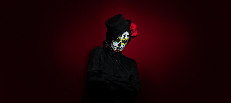 BigSmokeStudio Portrait Dia De Los Muertos Halloween Costume