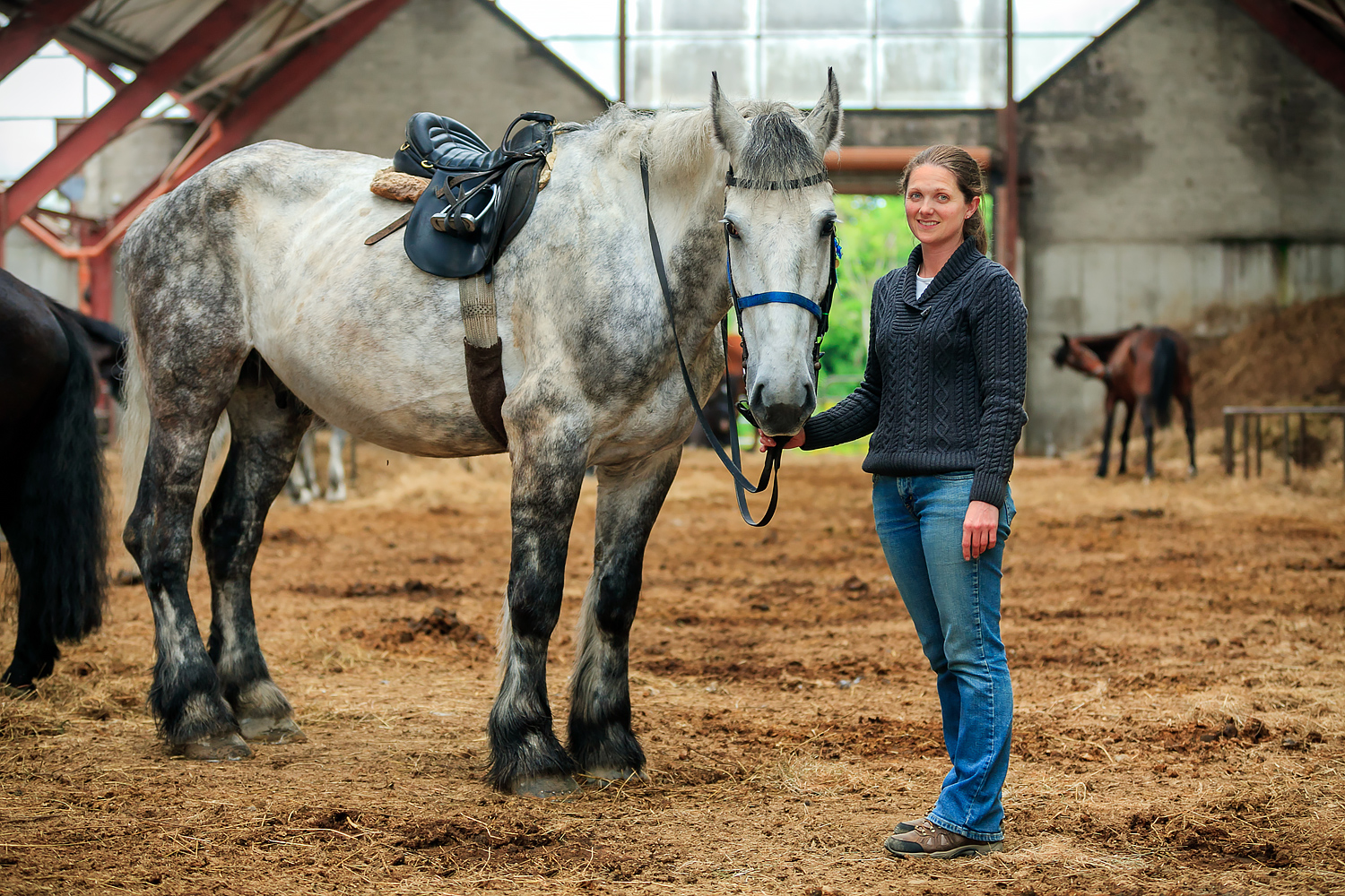 Aoife-O'Sullivan--Yard-Manager-at-Killarney-Riding-Stables