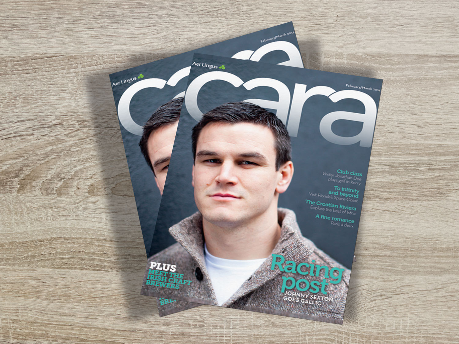 Cara Aerlingus Magazine Cover