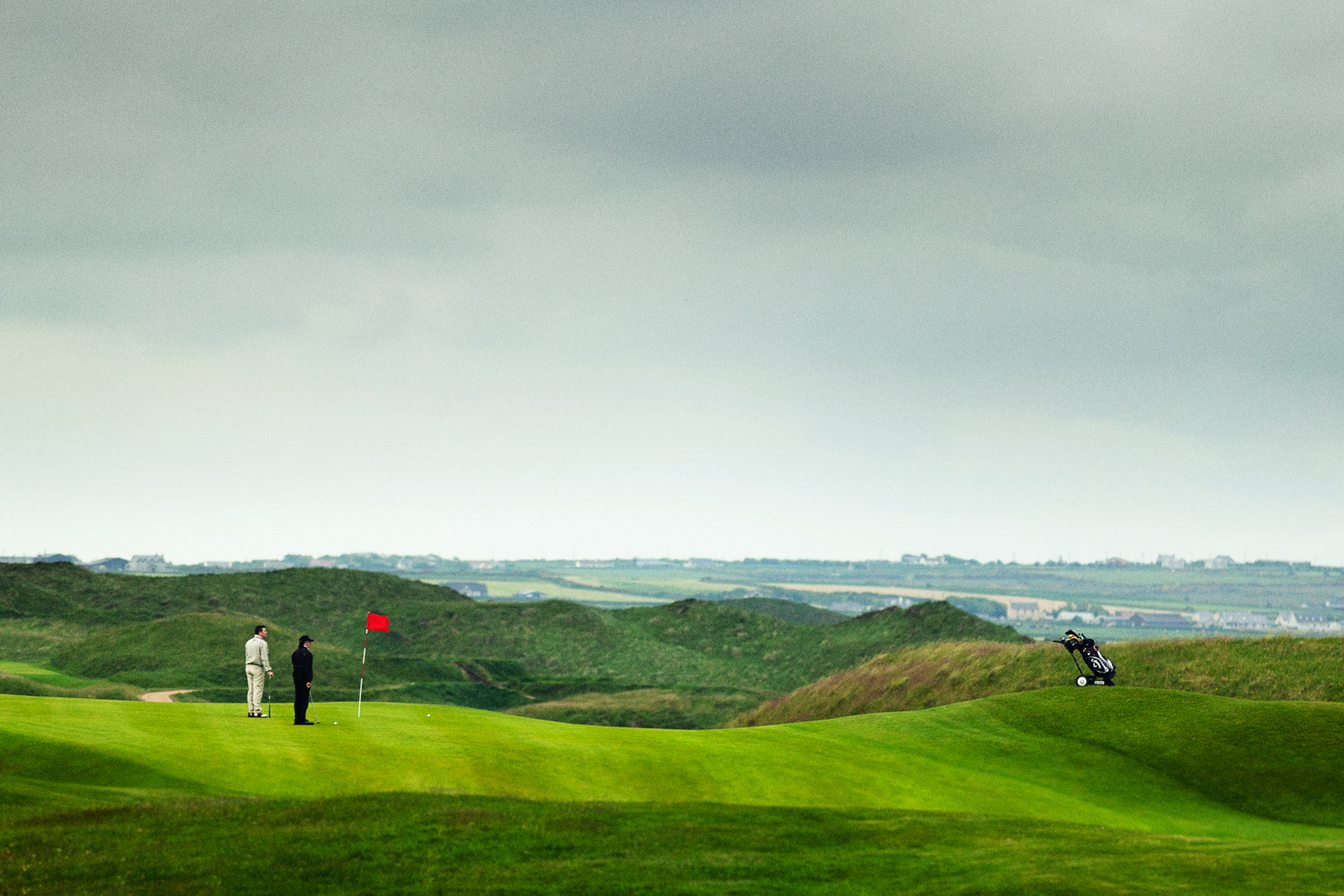 Golfers-at-Ballybunion-Golf-Club