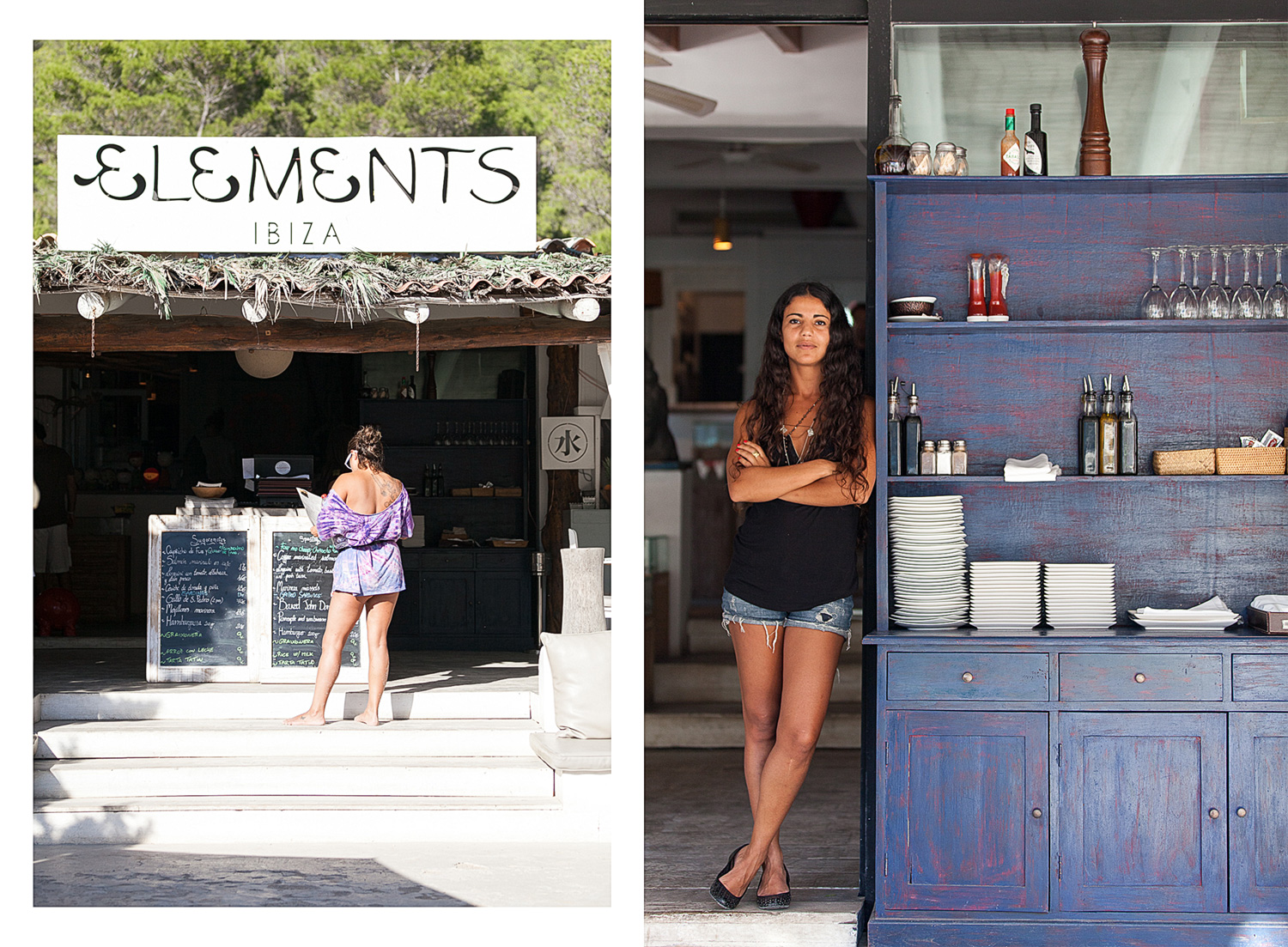 Elements-Ibiza-restaurant,-juice-bar,-lounge-bar,-Cala-Benirras,-Saria-Silny-manager,Ibiza