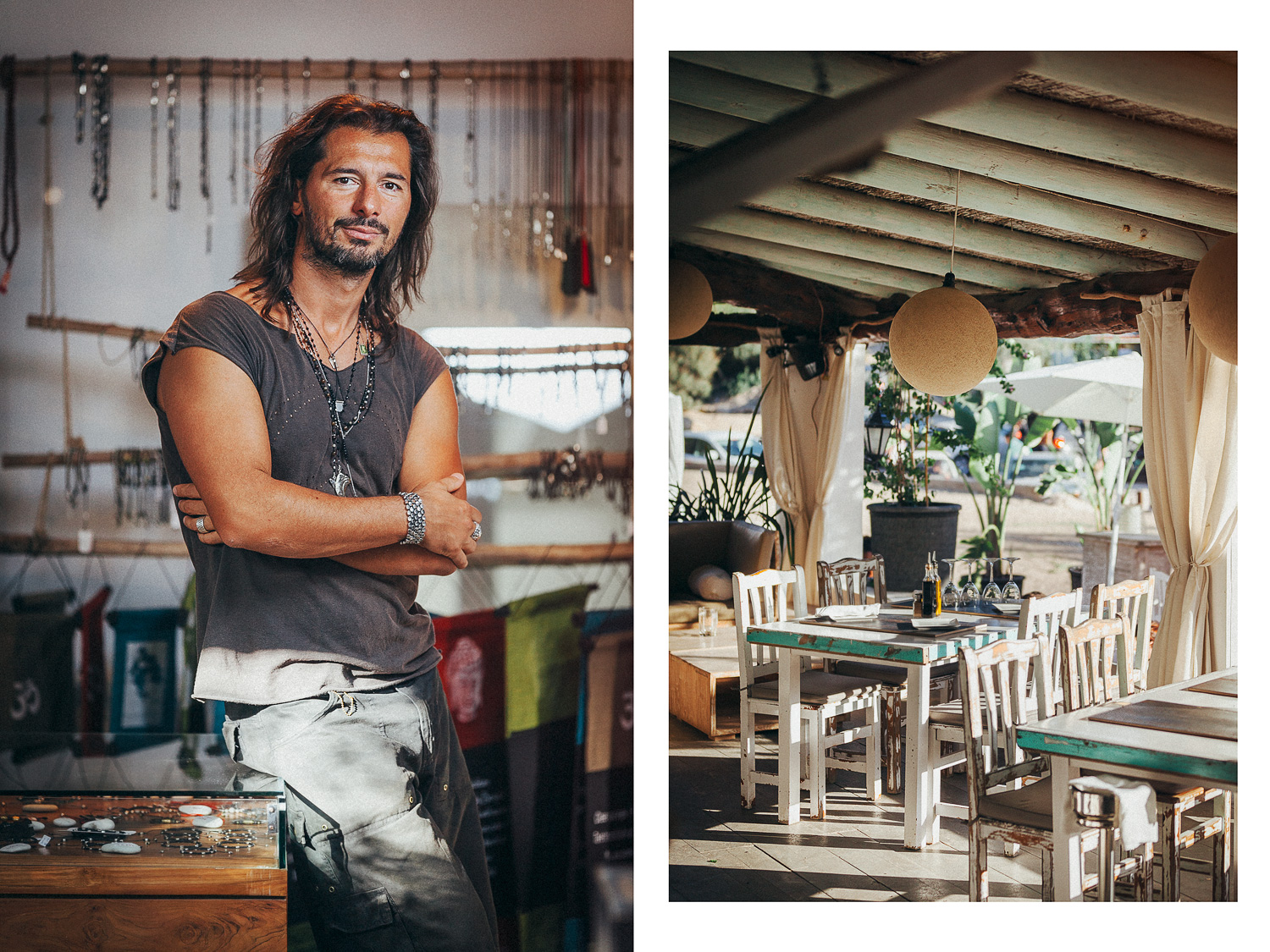 Elements-Ibiza-restaurant,-juice-bar,-lounge-bar,-Cala-Benirras,Gianluca-Bedin---Jewellery-maker,-Ibiza